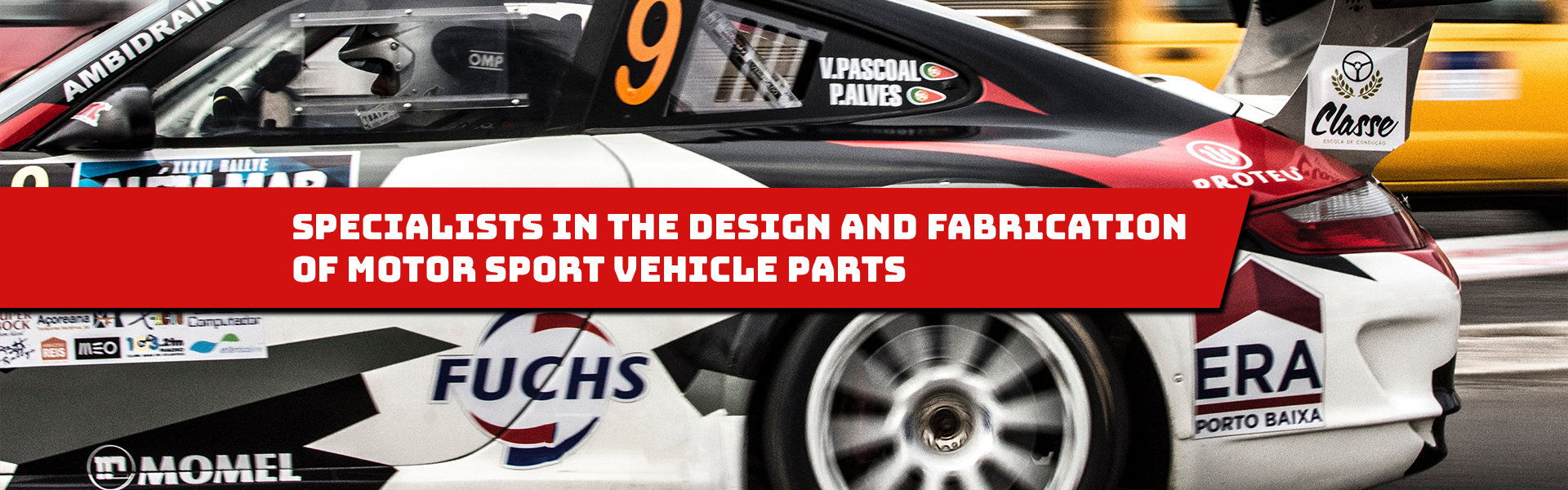 Specialists in motor sport vehicle parts