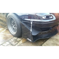 MX5 BYC Canards with end plates and stays