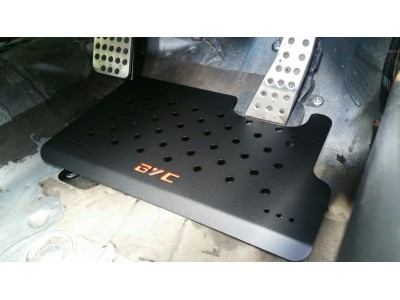 BYC FN2 track car foot plate
