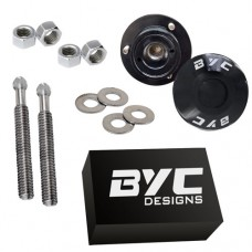 BYC push button bonnet release latches