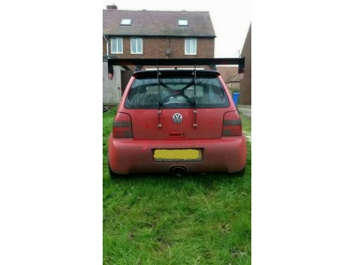 Lupo GTI BYC wing mount system