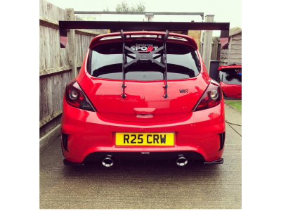 Corsa D VXR BYC wing mount kit